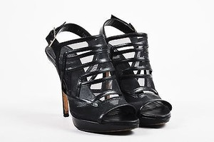 Dior Christian Leather Black Sandals