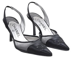 Chanel Pointed Black Pumps