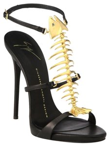 Giuseppe Zanotti black and gold Formal