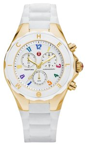 Michele NWT MICHELE LARGE JELLY BEAN GOLD / WHITE MWW12F000043