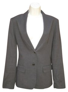 Jigsaw Linen Work Career Brown Blazer