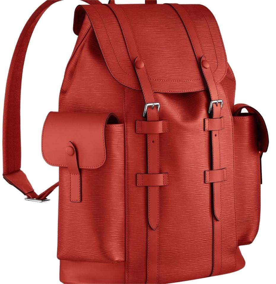 Louis Vuitton Christopher Pm Red Epi Leather Backpack - Tradesy 034fbf7b9772e