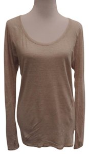Athleta Linen Tunic Length Sweater