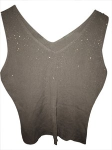 Silk Sequined Top grey