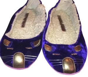 Marc by Marc Jacobs Purple Flats