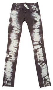 J Brand Tie Dye Pencil Pants Skinny Jeans-Light Wash