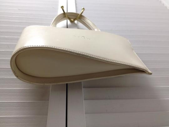 Concetta Pane Vintage Italy Tear Drop Chic Adorable Satchel in Beige Image 1