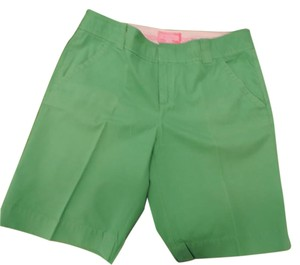Lilly Pulitzer 100% Bermuda Shorts Green