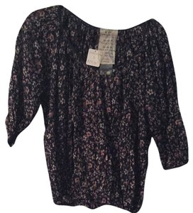 Free People Top Floral