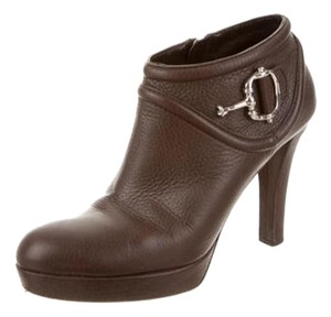 Gucci Louboutin Fendi Dior Prada Chocolate Gucci Booties Ankle Boots Boots