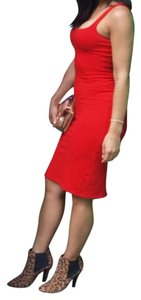agns b. short dress Red on Tradesy