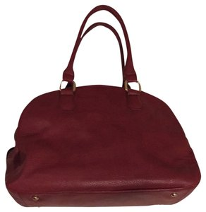 JustFab Nwot Red Fall Satchel in Burgundy