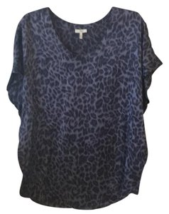 Joie Top Black/ leopard
