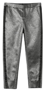 Banana Republic Straight Pants Silver
