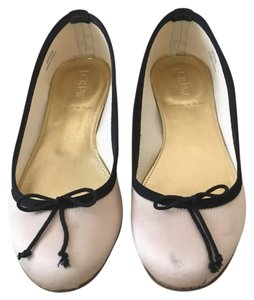 J.Crew Blush and black Flats