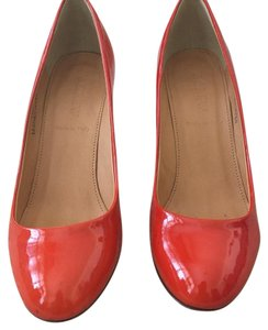 J.Crew Poppy (orange/red) Pumps