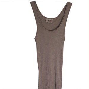 Michael Stars Simple Top Gray With Silver Metallic