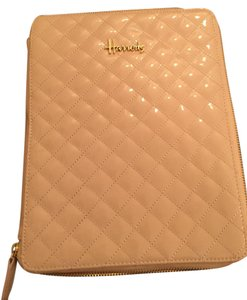 Harrods Faux Leather Quilted Laptop Bag
