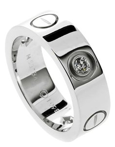 Cartier Cartier Love Diamond White Gold Ring