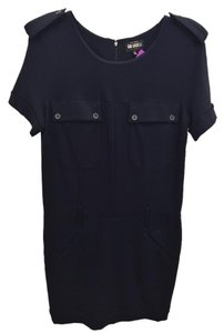 Karl Lagerfeld short dress Navy Shift on Tradesy