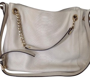 Michael Kors Satchel in Ivory