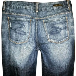 Seven7 Plus Boot Cut Jeans-Acid