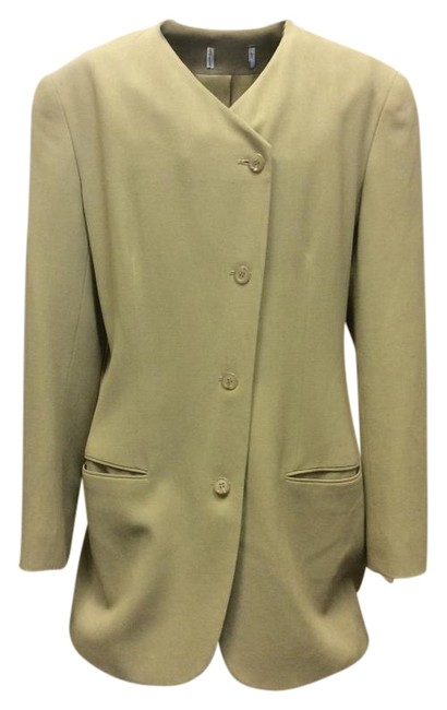 Preload https://img-static.tradesy.com/item/17835544/avocado-green-vintage-for-women-blazer-size-8-m-0-1-650-650.jpg