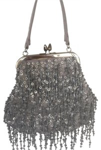 Franchi Evening Silver Clutch