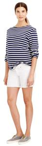 J.Crew Maternity denim short in white