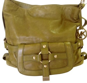 Michael Kors Satchel in Avocado Green