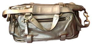 Coach Satchel in Metallic