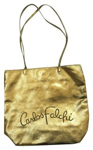 Carlos Falchi Tote in Gold