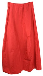 CoSTUME NATIONAL Maxi Skirt Red