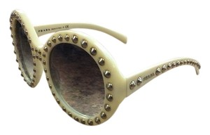 Prada Prada PR29QS-7S30A7 Women's Ivory Frame 56mm Sunglasses New In Box