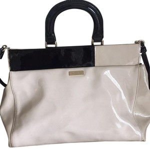 Kate Spade Satchel in Off White And Black