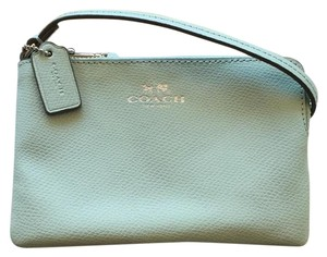 Coach Wristlet in Seaglass
