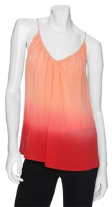 Joie Ombre Dip Dye Silk Summer Top Sunset