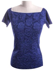 Reformation Top Blue