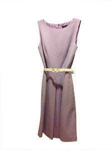 Arthur S. Levine short dress Lavender with white polka dots on Tradesy