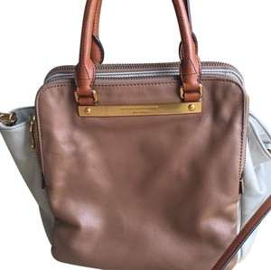Marc Jacobs Satchel in Brown And Beige