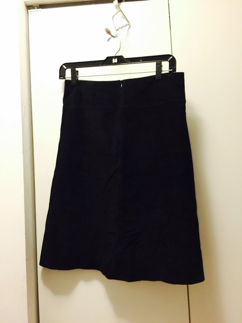 Suede Skirt Image 1