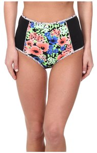 Shoshanna High Waisted Floral Bikini Bottoms