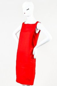 Diane von Furstenberg short dress Red Scarlet on Tradesy