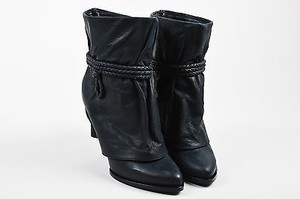 Givenchy Leather Fold Black Boots