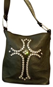 Raviani Rare Leather Studded Hobo Bag
