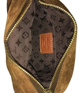Louis Vuitton Cacao Limited Edition Suede Monogram Satchel in Brown Cacao