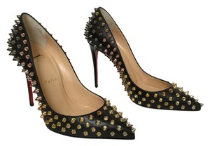 Christian Louboutin Follies Spikes Never Worn Black Pumps