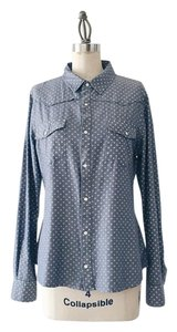 JOE'S Jeans Button Down Shirt Chambray