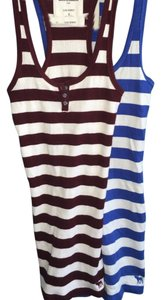 abercrombie kids Small Shirt Top Blue/Maroon