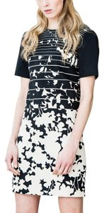 4.collective Print Short Sleeve Dress
